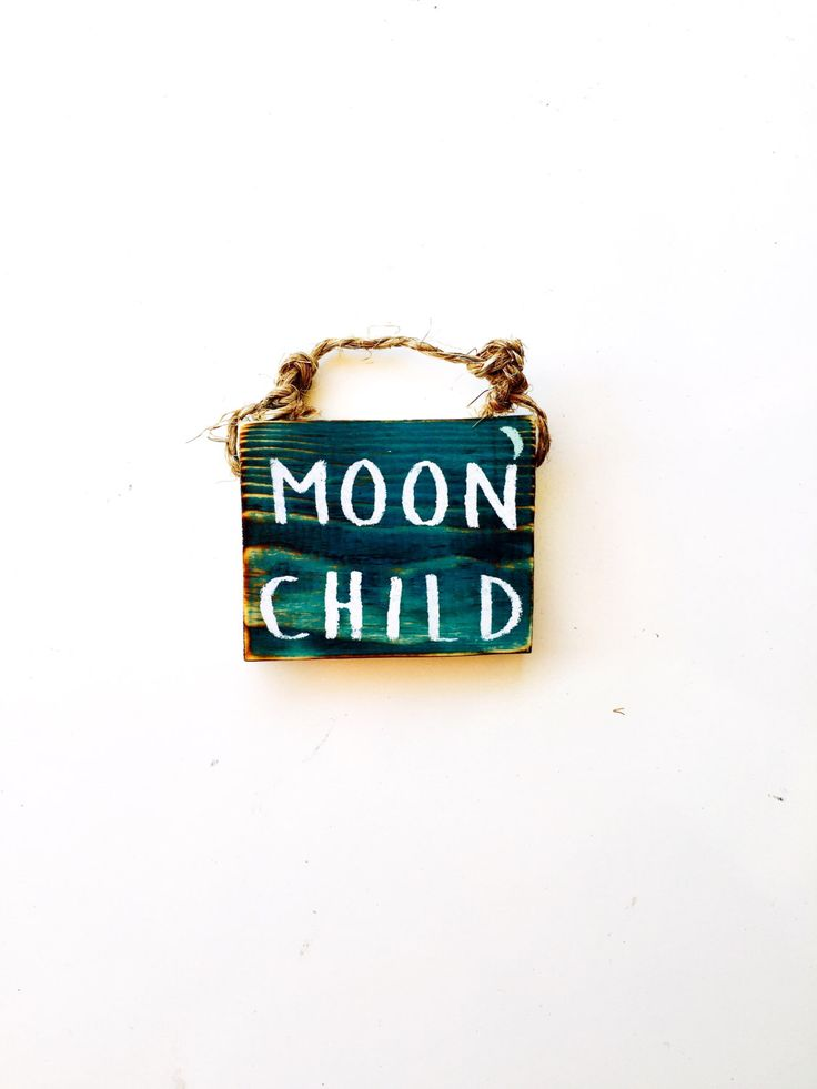 Moon Child Sign / Dorm Room Decor / Lunar / Gypsy Decor / Sea Gypsy California / Brandy Melville Sign / Wood SIgn by SeaGypsyCalifornia on Etsy https://www.etsy.com/listing/459258164/moon-child-sign-dorm-room-decor-lunar