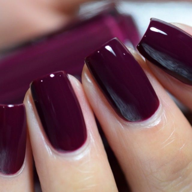 25+ Best Ideas About Dark Nail Polish On Pinterest