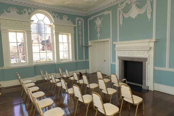 Wolverhampton City Archives, the Rococo room
