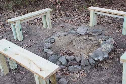 Posting this for the benches not the fire pit