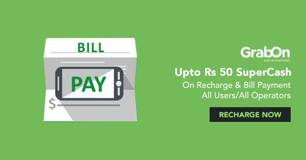 An #Offer For Paying your #bills? Well, That Sounds #Exciting! #SaveOnGrabOn