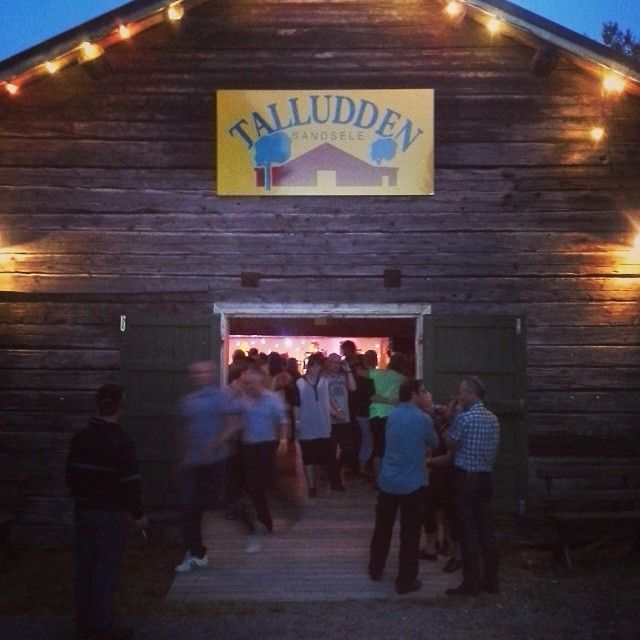 Foxtrot in the old barn at Talludden. Good old fun. Sorsele, in Swedish Lapland