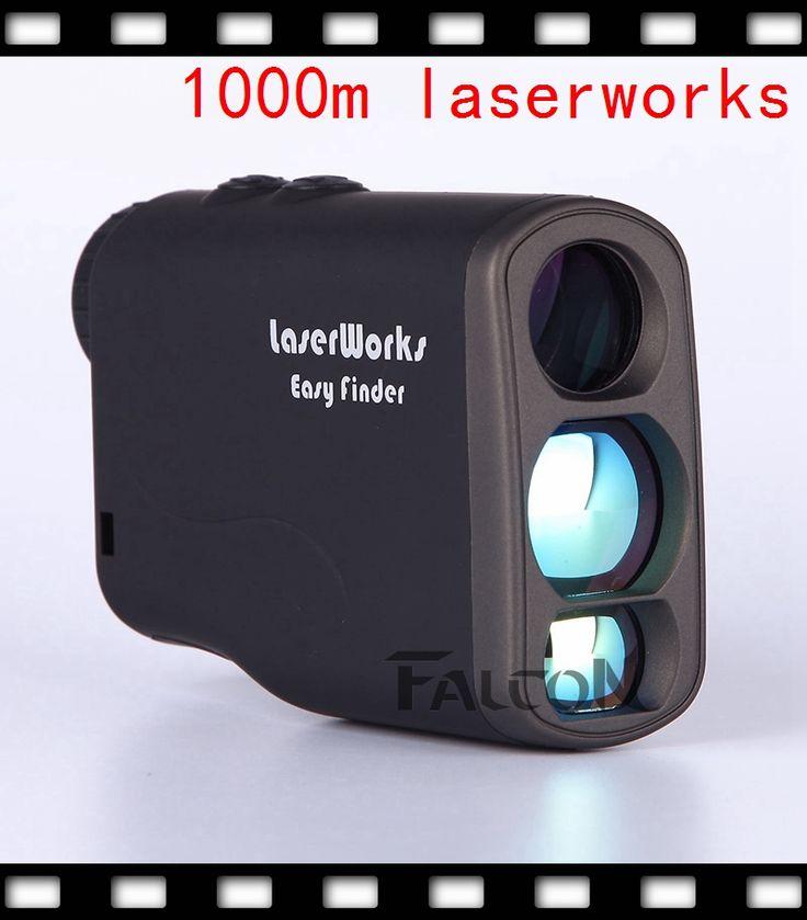 1000m 6X21 handheld laser rangefinder golf range finder speed detector distance meter telescope 0-300km/h speedmeter DH100