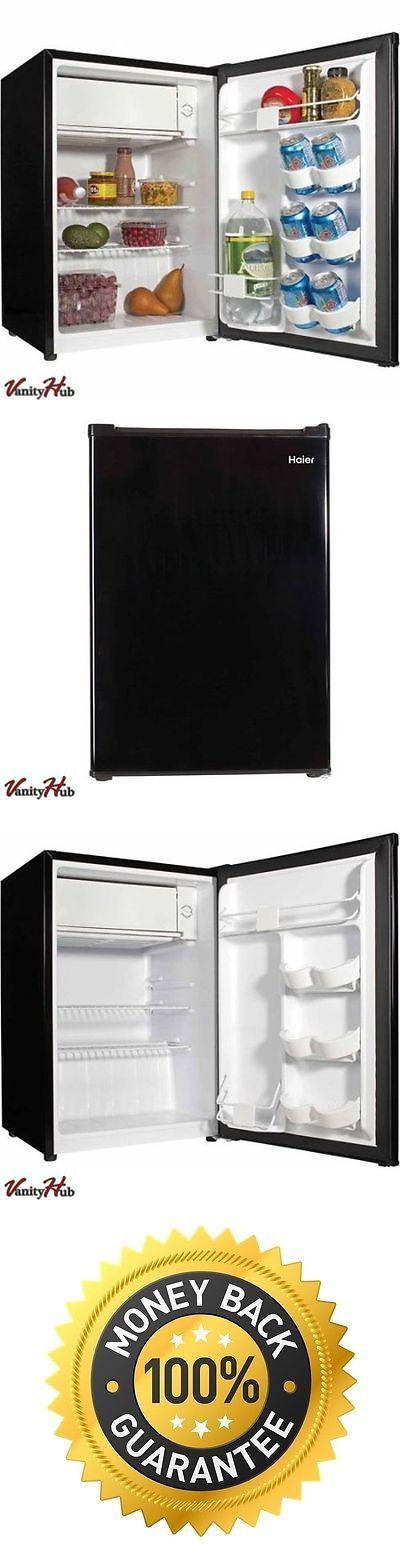 Mini Fridges 71262: Mini Haier Miniature Refrigerator Compact Home Small College Dorm Fridge Black -> BUY IT NOW ONLY: $95 on eBay!