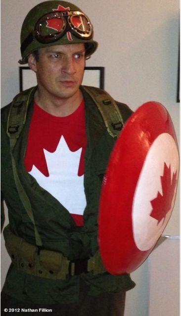 I love you, Captain Canada.