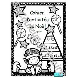 Cahier d'activités de Noël  1er cycle du primaire