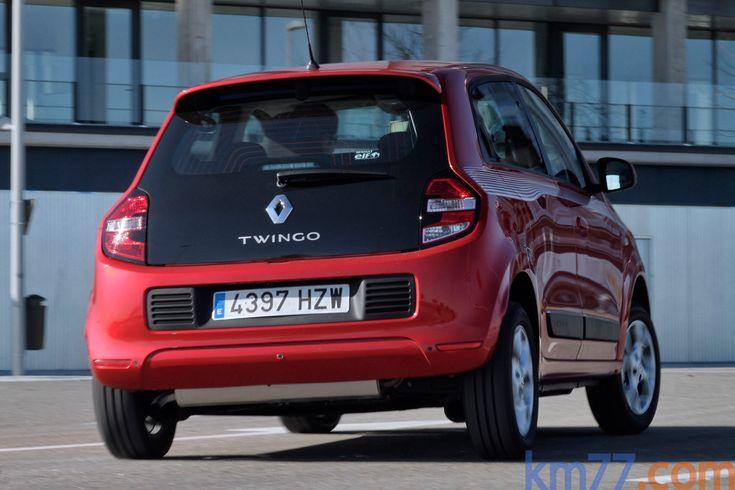 Renault Twingo SCe 70 Gama Twingo Turismo Rojo Deseo Exterior Posterior-Lateral 5 puertas