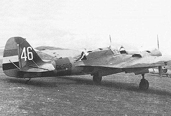 Tupolev SB-2M-100A, No 46, BK069, Barajas, 1938