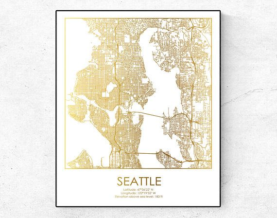 Best 25 Seattle map ideas on Pinterest Seattle street Seattle