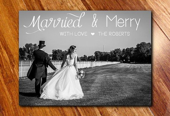 Celebrate your first year of marriage with this elegant holiday