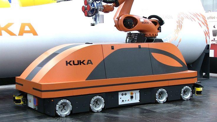 Highlights der Hannover Messe 2013: Demo of loads of robots.