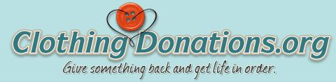 If you're going to get rid of items and would like to do are, I definitely suggest donating to these people. Check out the website. I'm so motivated to go through my stuff just to donate and help them out. ClothingDonations.org - Give something back and get life in order.