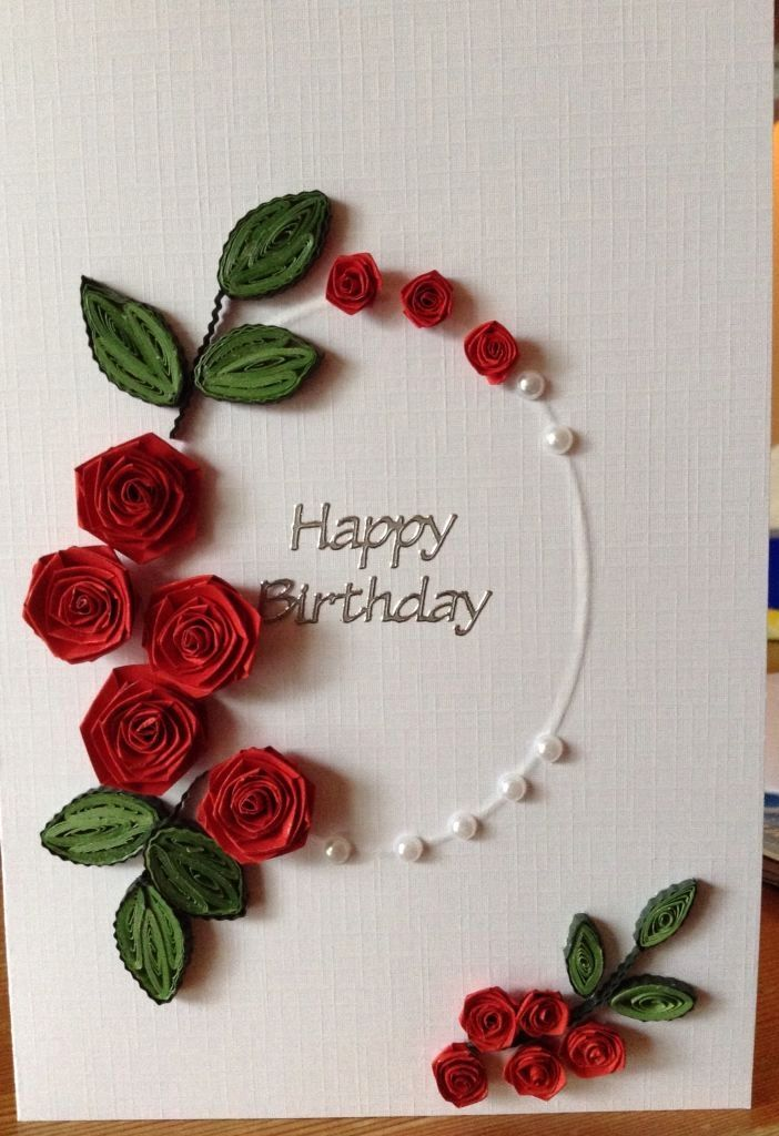 Fine Paper Quilling Patterns For Birthday Cards Luxury Best 25 Quilling Personalised Birthday Cards Cominlily Jamesorg