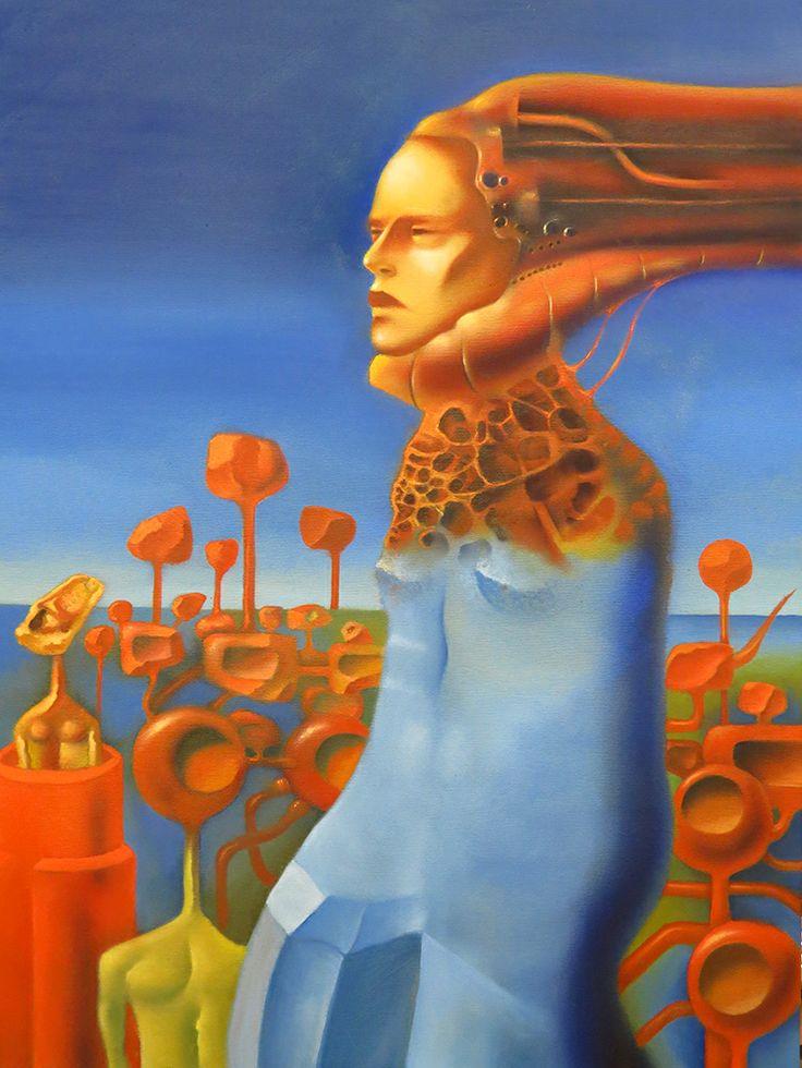 Ruben Cukier new work oil on canvas - 60 x 80 cm