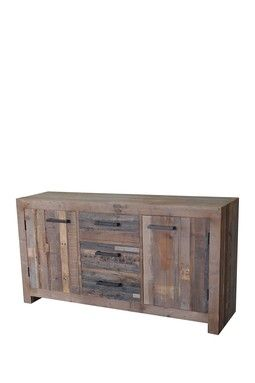 CDI Furniture Terra Nova Buffet Terra Nova Buffet: Three Drawer Buffet With  Two Cupboards Made Of Reclaimed Pinewood Features A Rustic Finish Forest ...
