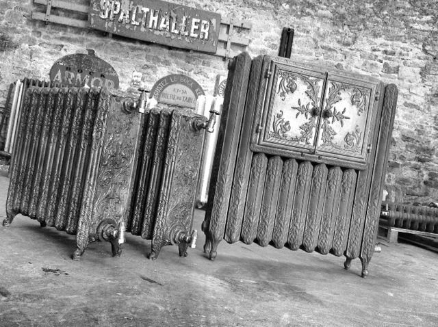17 best images about cast iron radiators on pinterest tall plants warm and - Radiateur fonte retro ...