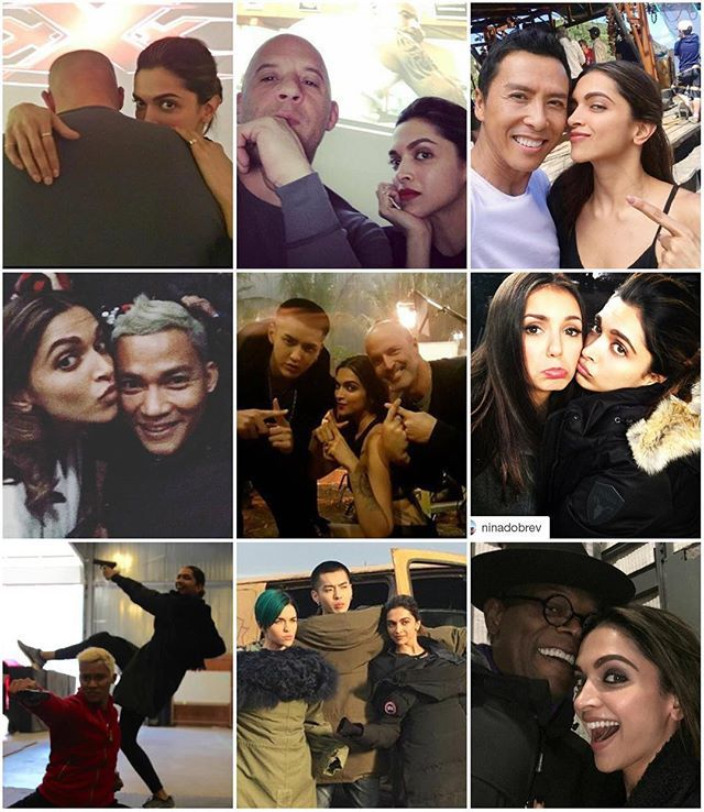 In the beginning of 2016, we got to see @deepikapadukone with so many international stars while she was shooting for her movie @xxxmovie. Deepika with Kris wu. Deepika with Vin Diesel. Deepika with Nina Dobrev. Deepika with Ruby Rose. Deepika with Tony Jaa. Deepika with Donnie Yen. Deepika with Samuel L Jackson. All the Pictures broke the internet actually. No Release of her movie in 2016, but still she was Fabulous. #deepikapadukone #xXxTheMovie