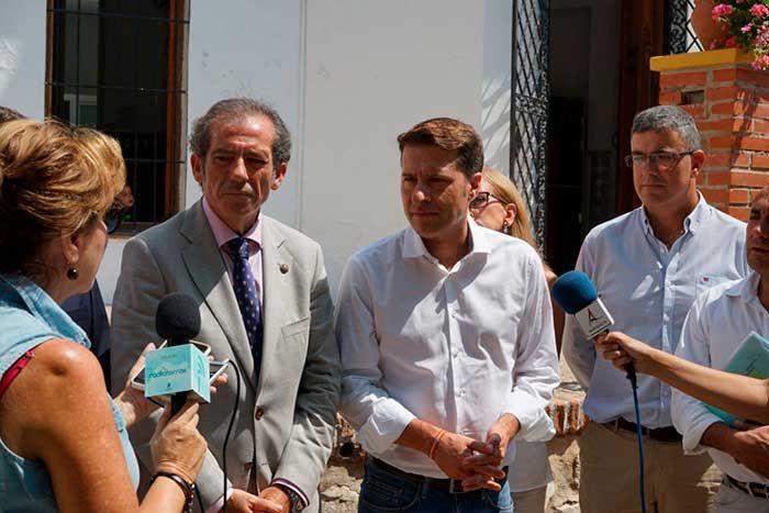 """El decano del Colegio de Abogados de Málaga,Francisco Javier Lara, ha anunciado que la institución denunciará a la Junta de Andalucía por """"las deficiencias que presenta la sede judicial de Torrox ."""