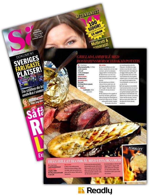 Tips om Aftonbladet Söndag 21 juni 2015 sidan 85