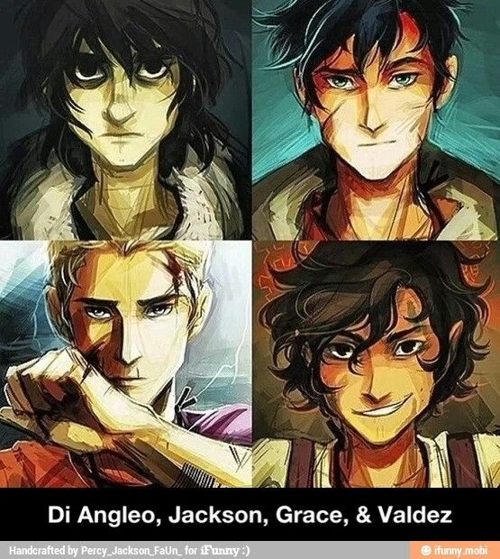 my boys! :) | Nico Di Angelo | Percy Jackson | Jason Grace | Leo Valdez