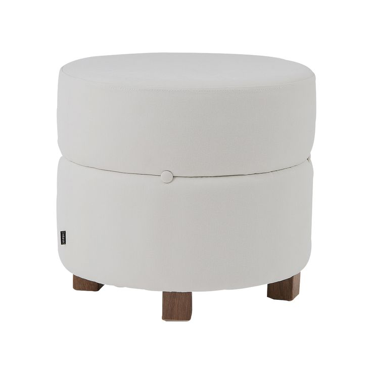 Puff Botton Redondo - Off-white
