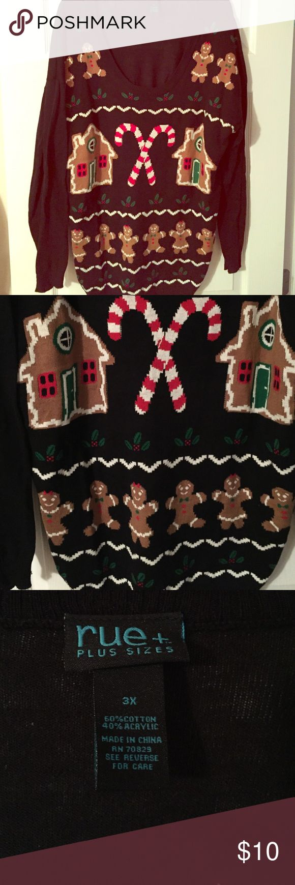 Plus size Christmas sweater Plus size Tops Sweatshirts & Hoodies