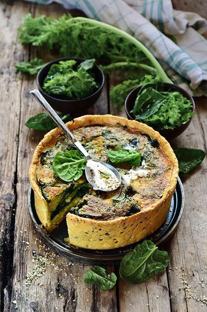 Dorian cuisine.com Mais pourquoi est-ce que je vous raconte ça... : Ma tarte à l'épinard et aux pommes de terre parce que j'adooooore les épinards!
