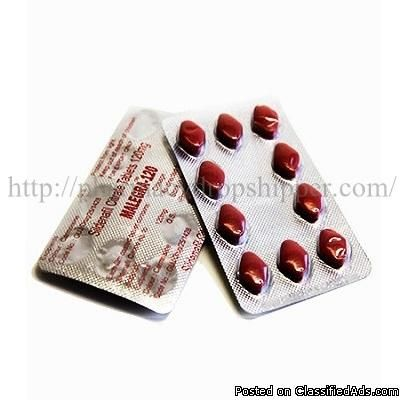Malegra 120mg (Sildenafil Citrate Tablets)Malegra 120mg (Sildenafil Citrate Tablets) is a high power sexual inhibitor newly introduced by Sunrise Remedies. Unlike the brand, the medicine is available in highest dose containing Sildenafil Citrate in 120 mg. The medication is nothing different than that of blue pills, in fact it is much powerful than the traditional 100 mg tablets. The 120 mg dose is a high power formula which suits all men. Malegra 120mg (Sildenafil Citrate Tablets) serves a…