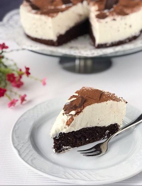 Milchschnitte Torte Stuck Kuchen Ein Stuck Und Das Wochenende