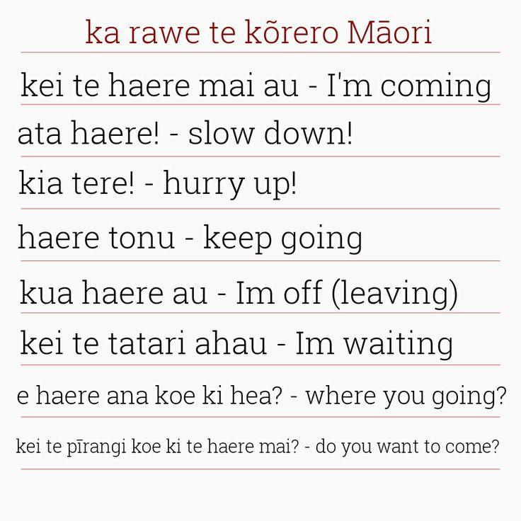Korero Maori