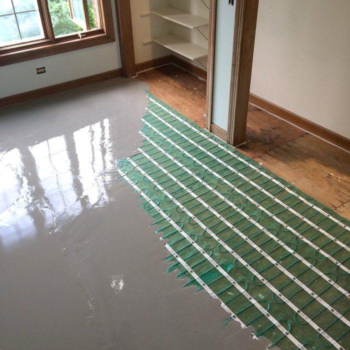 radiant floor heating roll for tile
