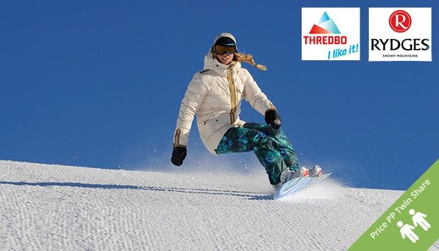 Stay Rydges Ski Thredbo: $199 for a Two-Night Jindabyne Escape with Lift Pass