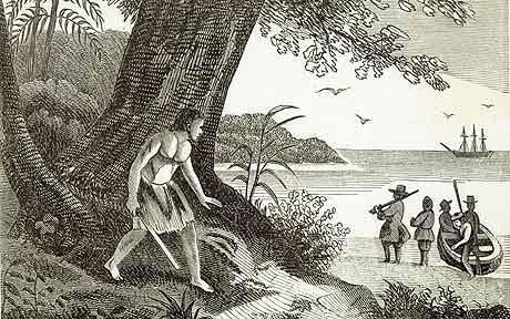A mariner born in Largo, Alexander Selkirk was marooned on San Fernandez Island and became the model for Daniel Defoe's Robinson Crusoe.
