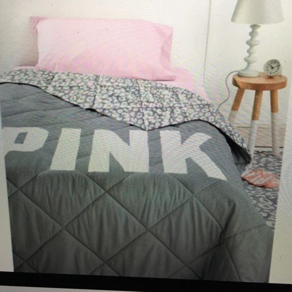 Vs pink twin xl comforter grey comforter comforter and Twin vs twin xl
