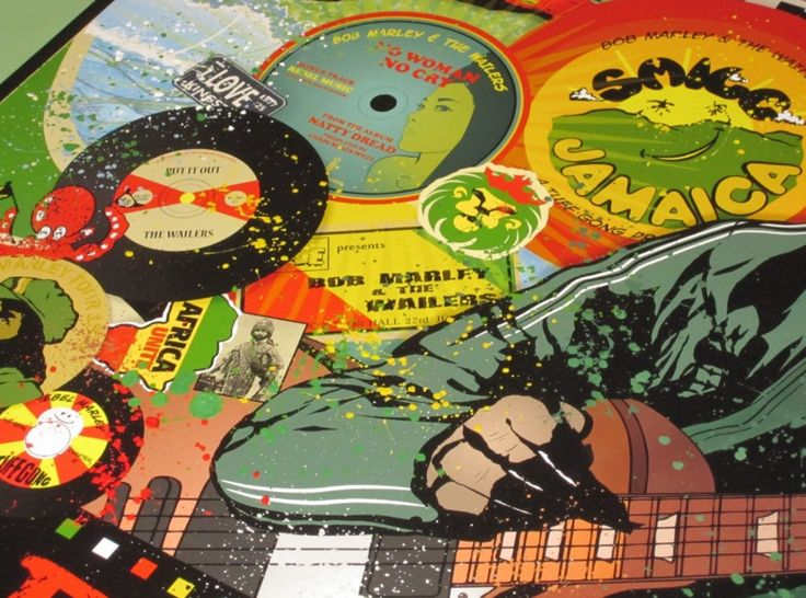 This was a fine-art comission, made for Bob's daughter, Cedella Marley…