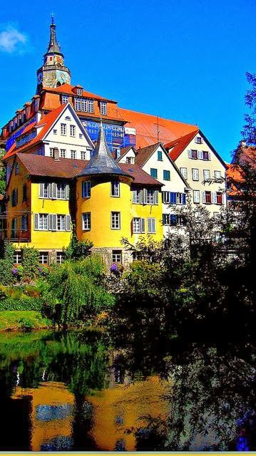 Tübingen, Germany next to Heidelberg the other best College town . Also close to Reutlingen were all my homeys are lol