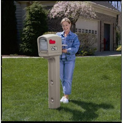 Best Mailboxes Images On   Mail Boxes Mailbox And