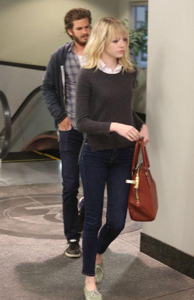 Emma Stone Skinny Jeans - Emma Stone Looks - StyleBistro