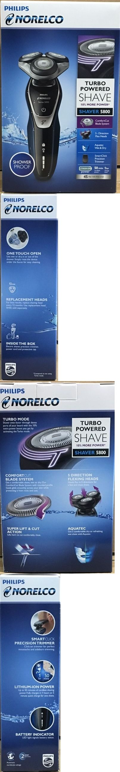 Mens Shavers: Philips Norelco 5800 Aquatec Wetanddry Electric Shaver, Model S5355 82. Brand New. -> BUY IT NOW ONLY: $64 on eBay!