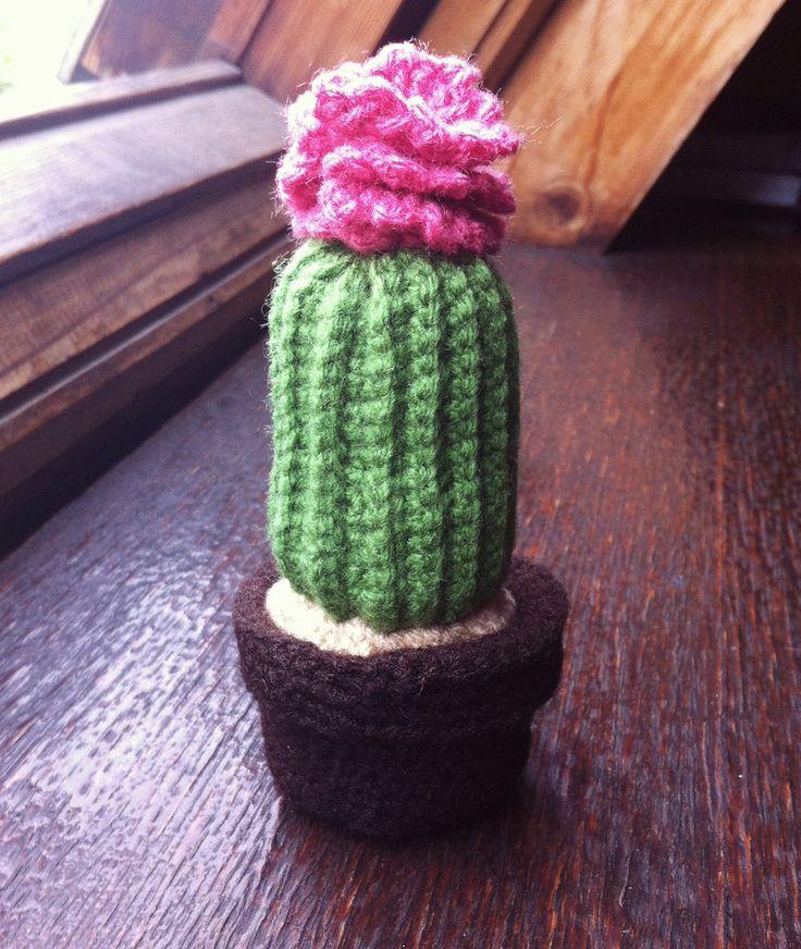 cactus (elisamorenoo) Tags: cactus crochet amigurumi elisamorenoo