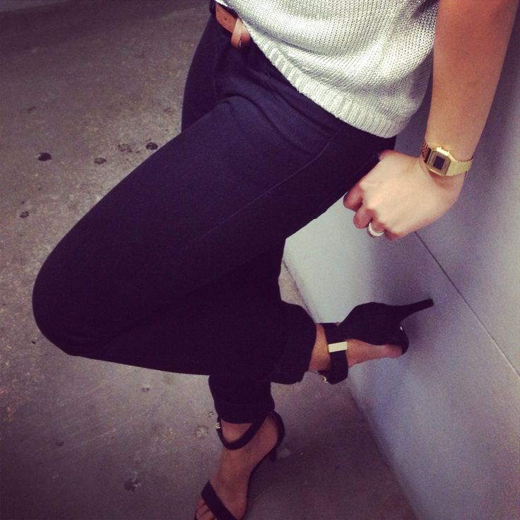Skinny jeans + black heels   tony bianco   wrangler skinny jeans   silver off shoulder top   classic style jazzed up  