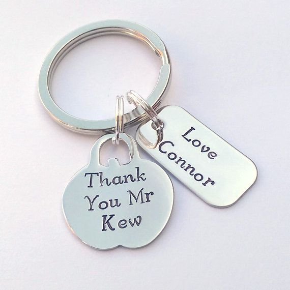 Personalised Teacher gift personalised by EmsStampedJewellery