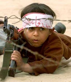 In many places in the world big and little children are taught to hate and kill. These are crimes against humanity. We need to care about these things and do what we can to stop these atrocities.