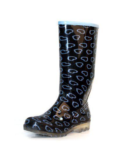 Luckers Women's Hearts Rainboots (10 B(M) US) Luckers. $22.00. Save 24%!