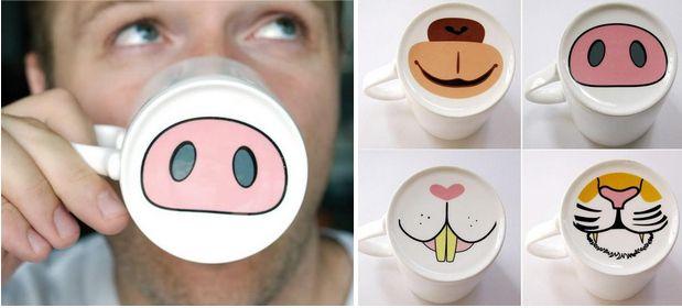 Veja abaixo 30 canecas muito criativas com desenhos e designs diferenciados. Com certeza quem ama café vai gostar delas!