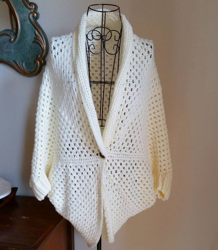 Book Cover Crochet Jacket ~ Best ideas about crochet shrug pattern on pinterest