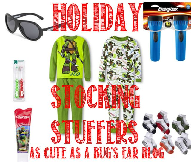 As Cute as a Bug's Ear - Adventures in Parenting  Stocking Stuffers- Essentials & Goodies for toddler girls and boys. Find some simple and sweet ideas on how to fill your kids stockings!  #stockingstuffers #gifts