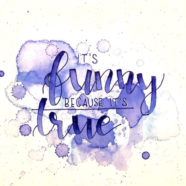 Lettering - It's funny because it's true - Big bang theory quotes