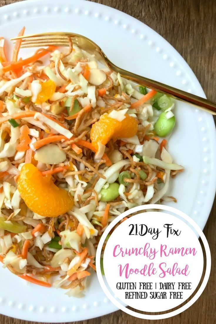 This 21 Day Fix Ramen Noodle Salad Is A Healthy Remake Of The