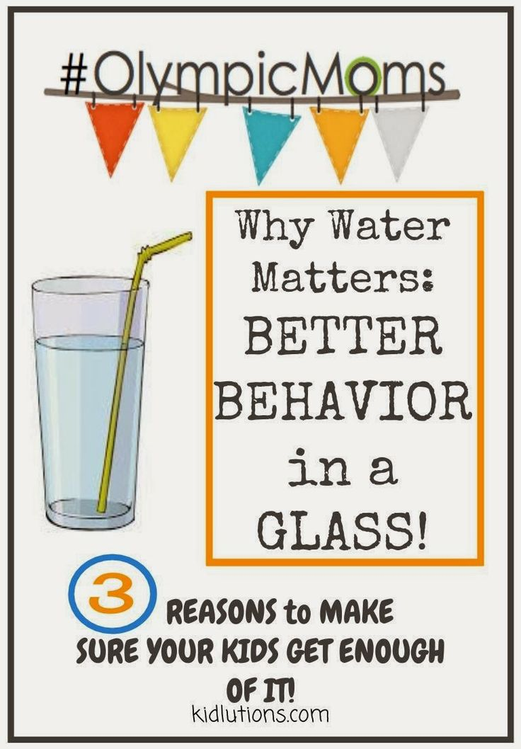 """""""Spin-Doctor Parenting"""": Better Behavior in a Glass: Why Water Matters #OlympicMoms"""